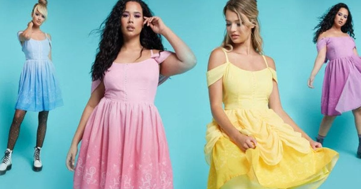 Disney Princess Fashion Collection Hits Hot Topic