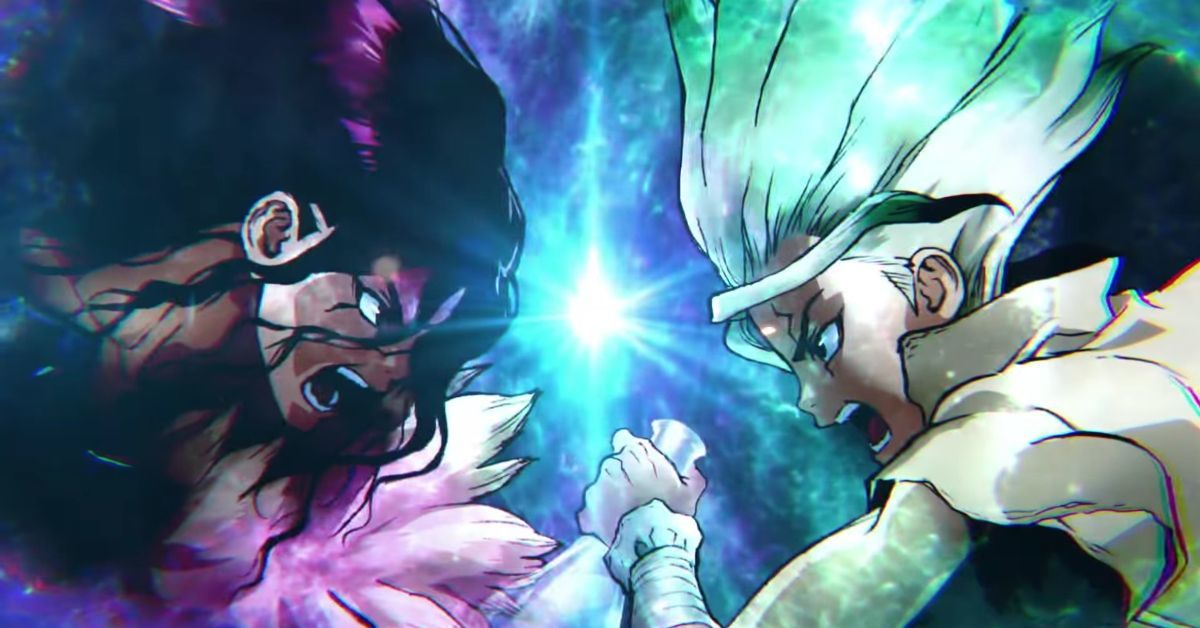 Dr Stone Season 2 Stone Wars Senku Tsukasa Anime