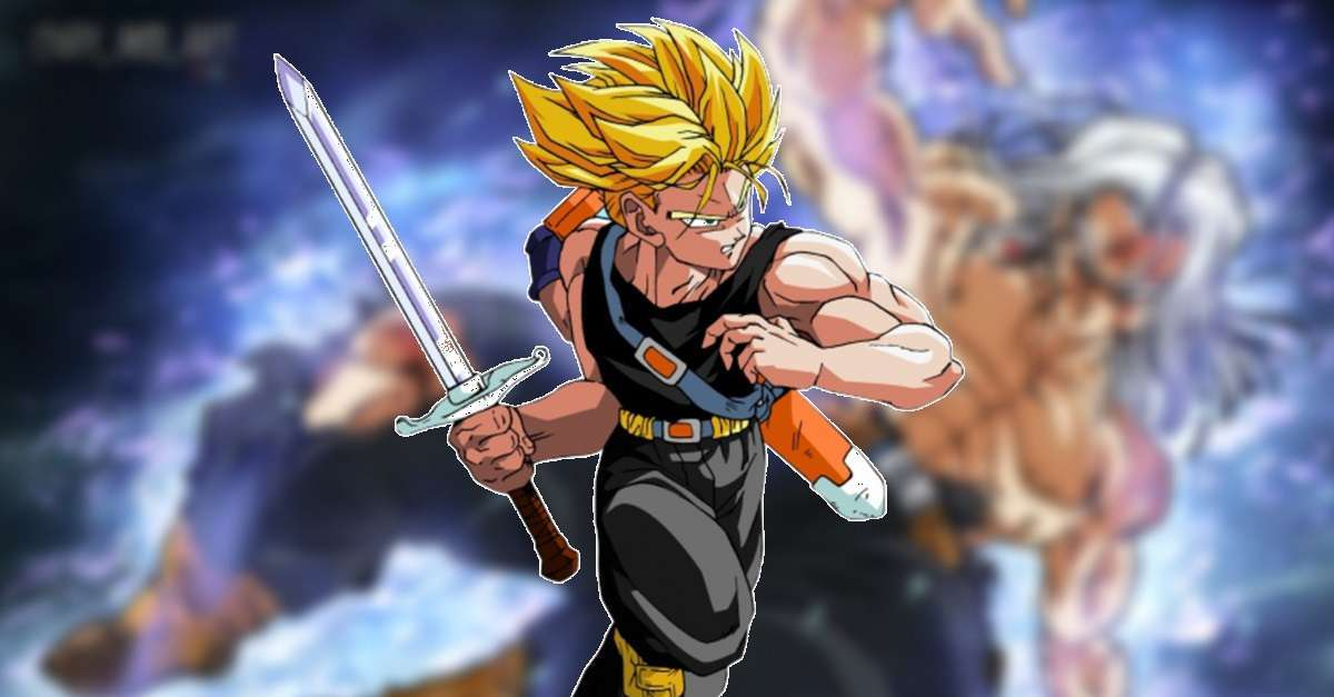 Dragon Ball Future Trunks Ultra Instinct
