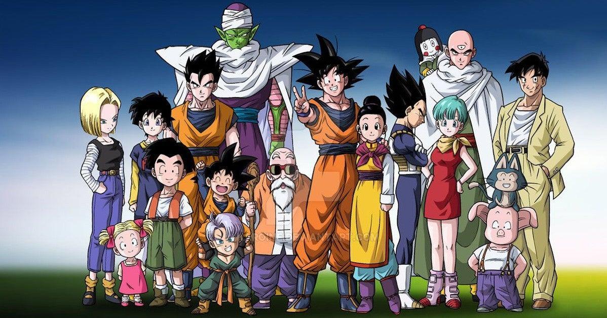 Dragon ball Super Ending Z Fighters team Reunion