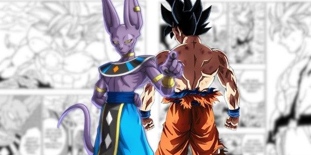 Dragon Ball Super Goku Ultra Instinct Perfected vs Beerus Manga Spoilers