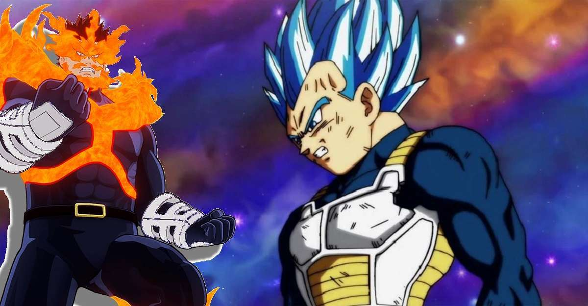 Dragon Ball Super My Hero Vegeta Endeavor