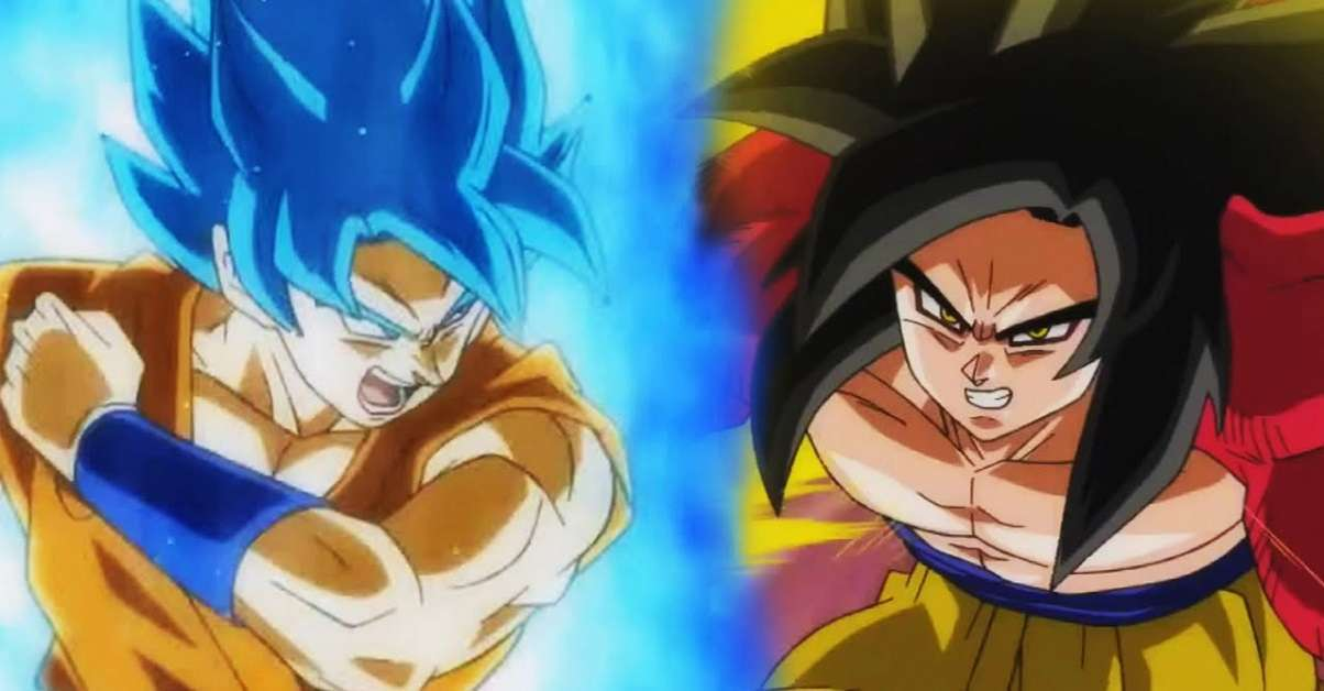 Dragon Ball Super vs GT Anime