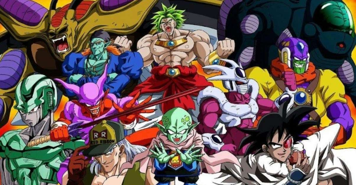 Dragon Ball Villains