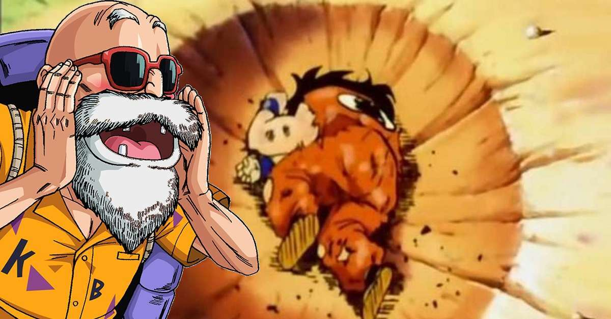 Dragon Ball Yamcha Master Roshi Joke