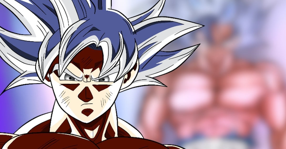 Dragon Ball Z Goku Ultra Instinct Artwork