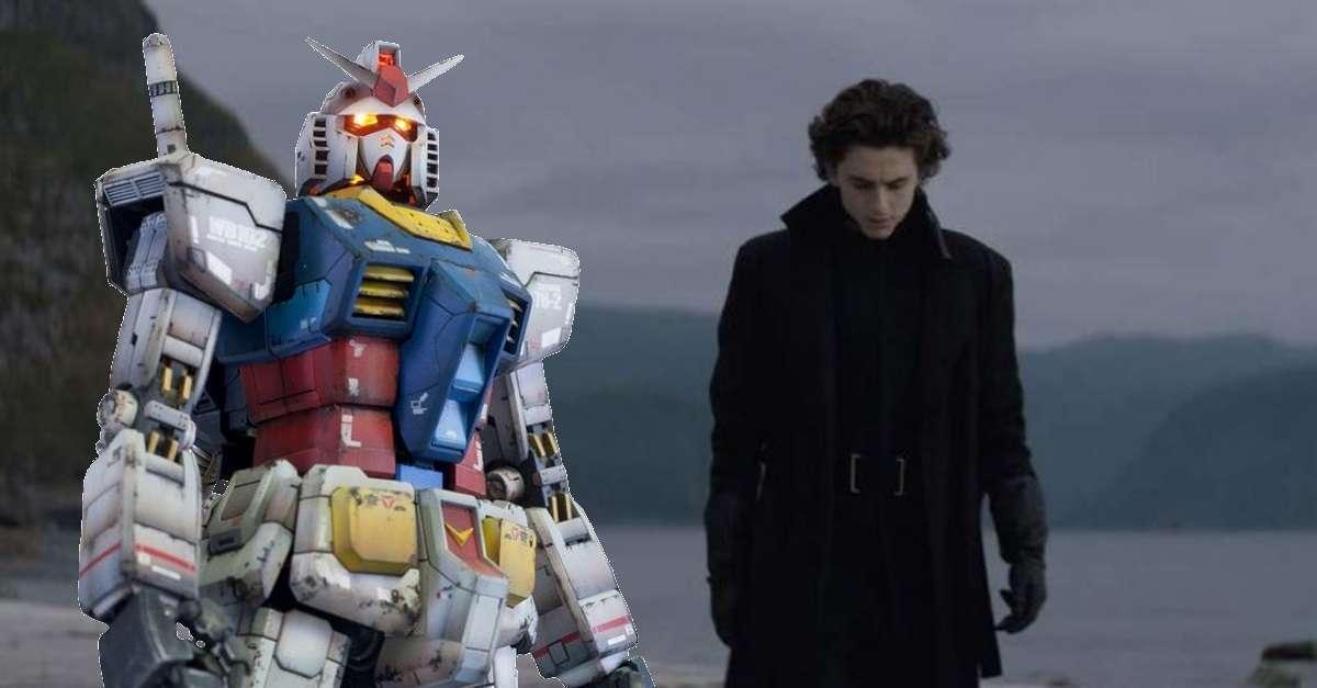 Dune Gundam Comparison Anime