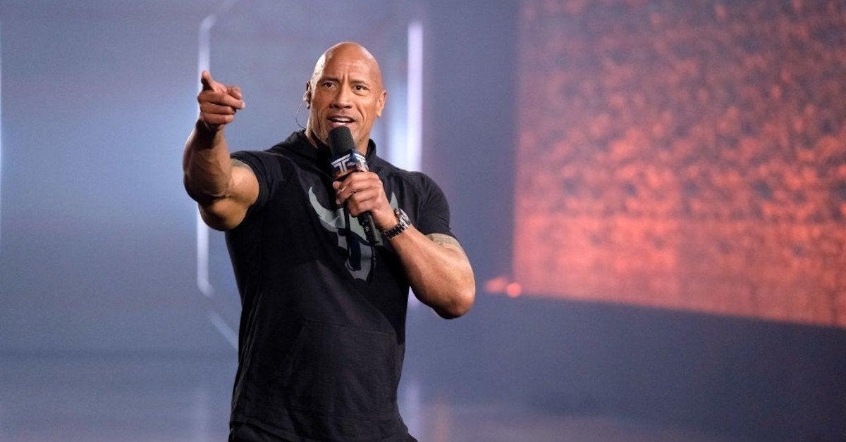 Dwayne rock johnson political endorsement joe biden kamala harris