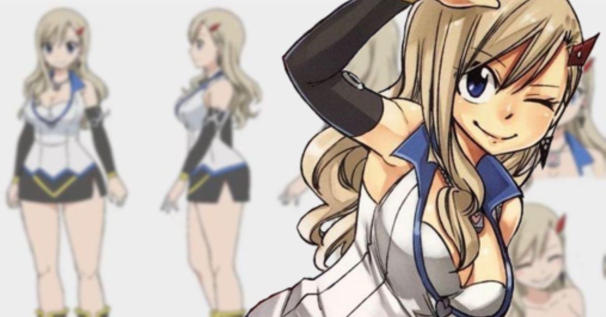 Edens Zero Anime Character Designs Rebecca Hiro Mashima