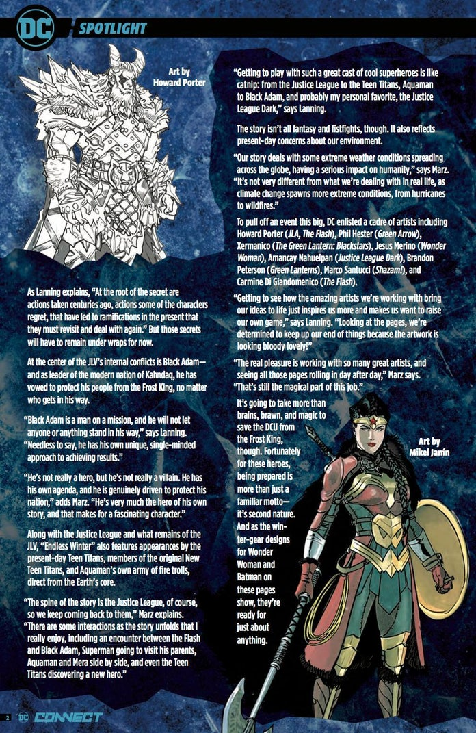 DC's Endless Winter Brings a Justice League to Viking Times