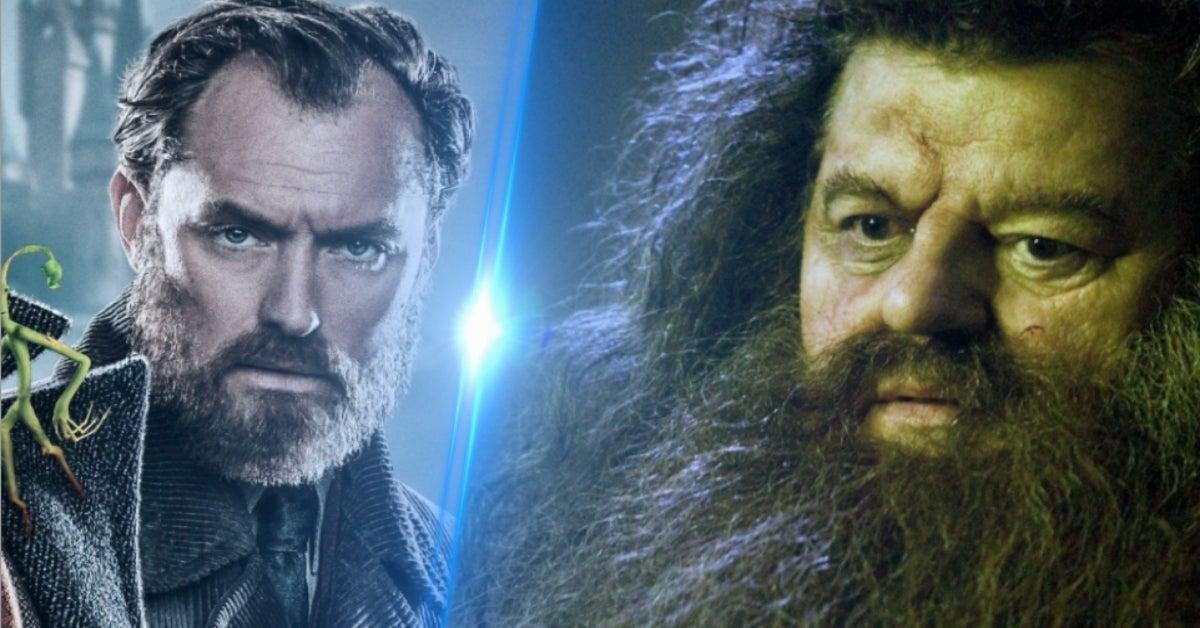 Fantastic Beasts 3 Hagrid