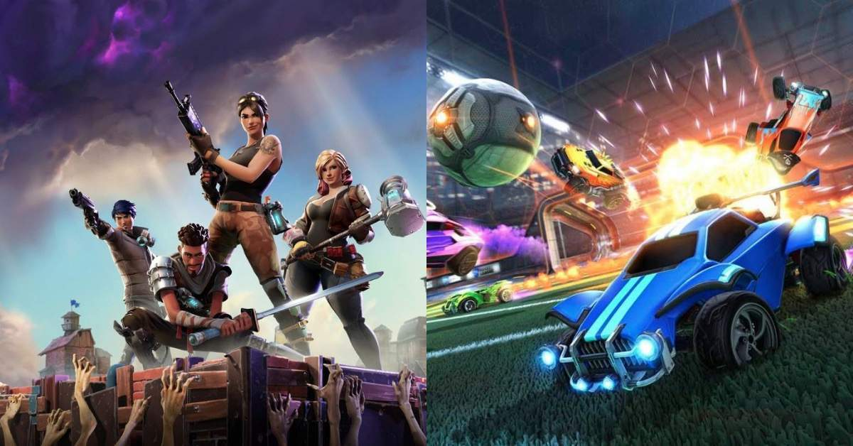 Fortnite Rocket league