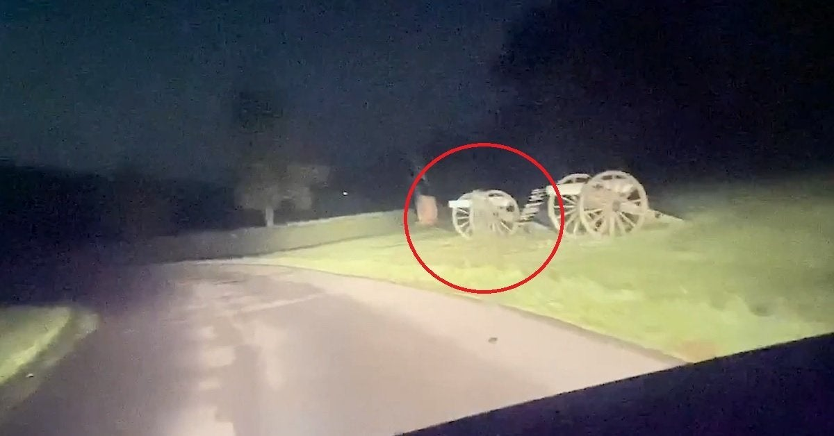 gettysburg ghost footage apparition video