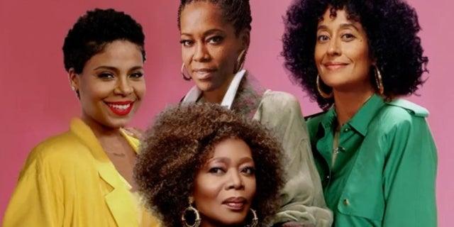 Golden Girls Re-Imagining All Black Cast Tracee Ellis Ross Rigina King Sanaa Lathan Alfre Woodard