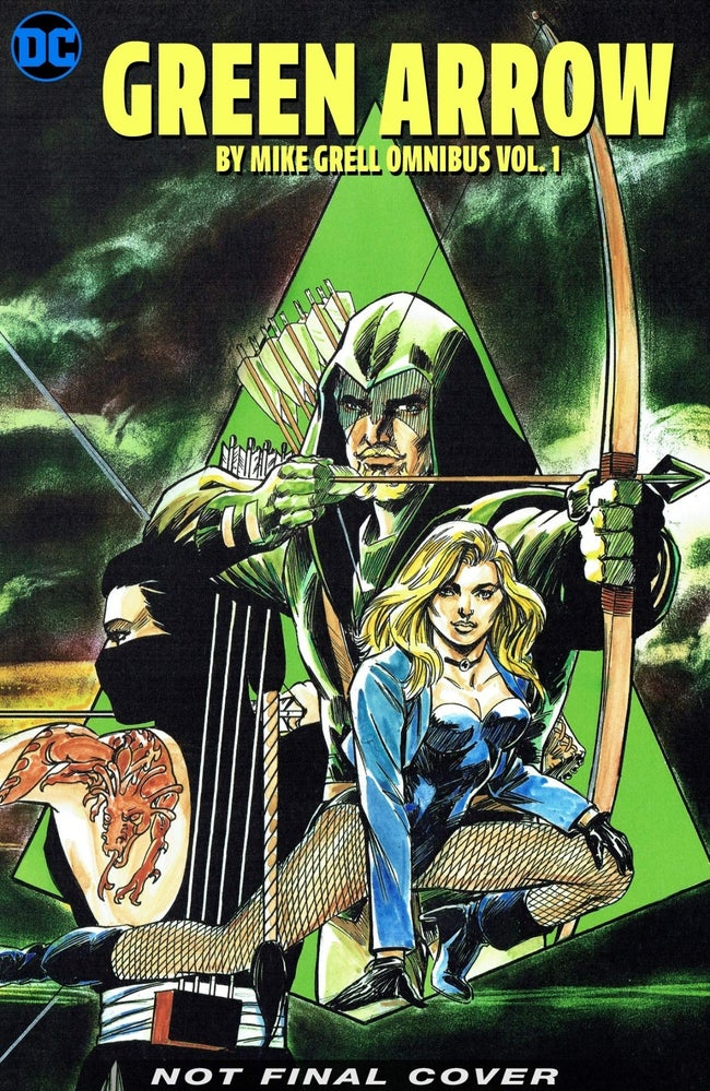 green arrow by mike grell omnibus