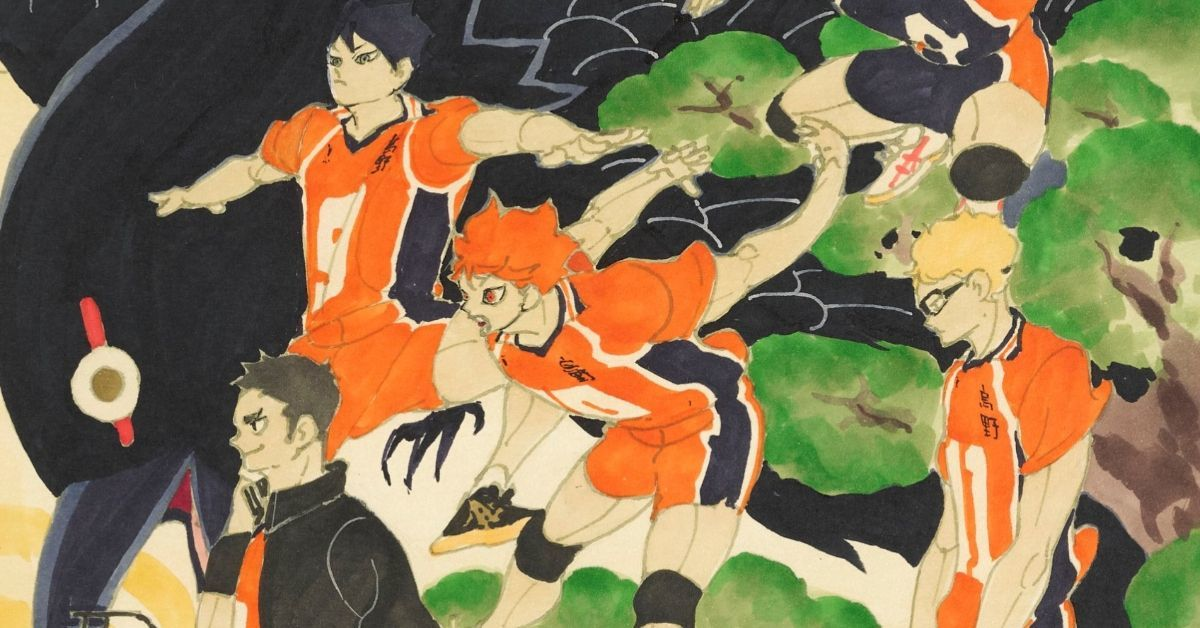 Haikyuu Season 4 Haruichi Furudate Poster Art