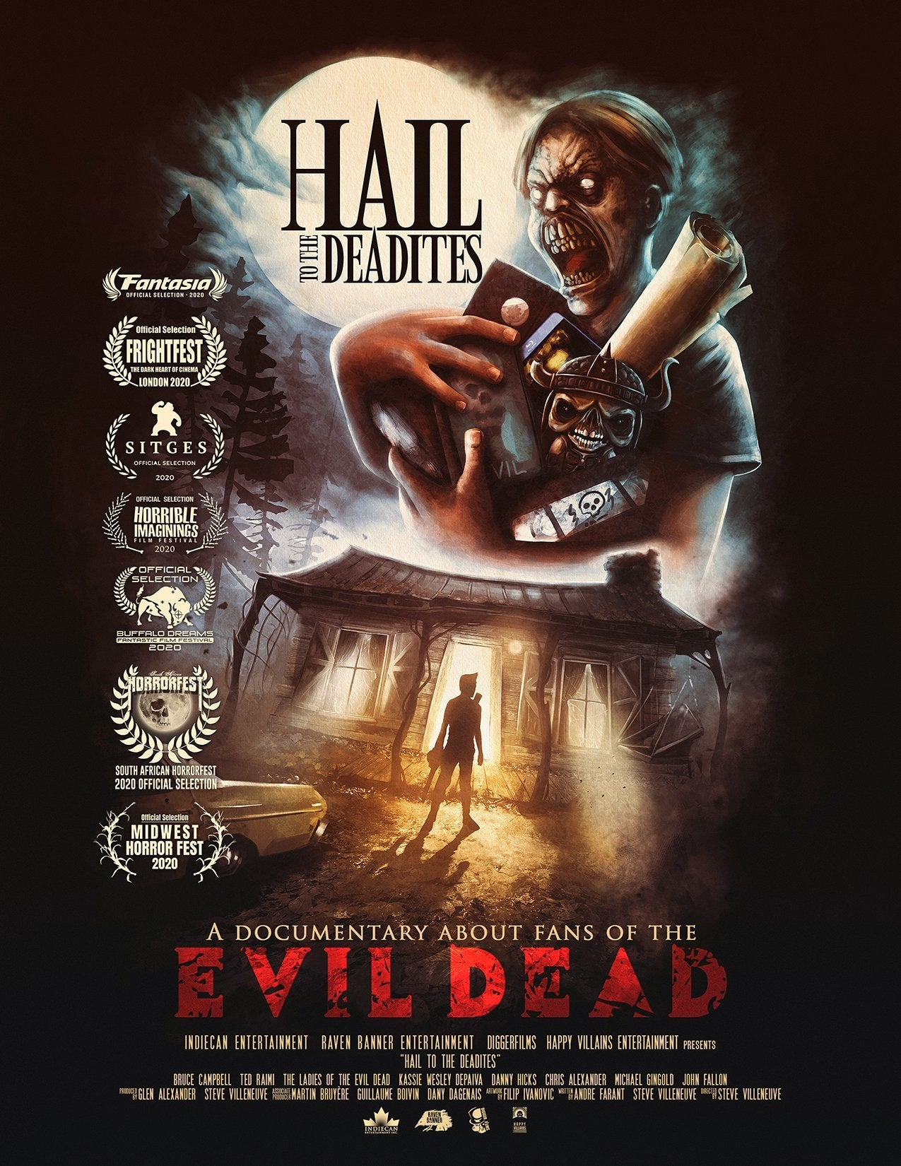 hail to the deadites movie poster