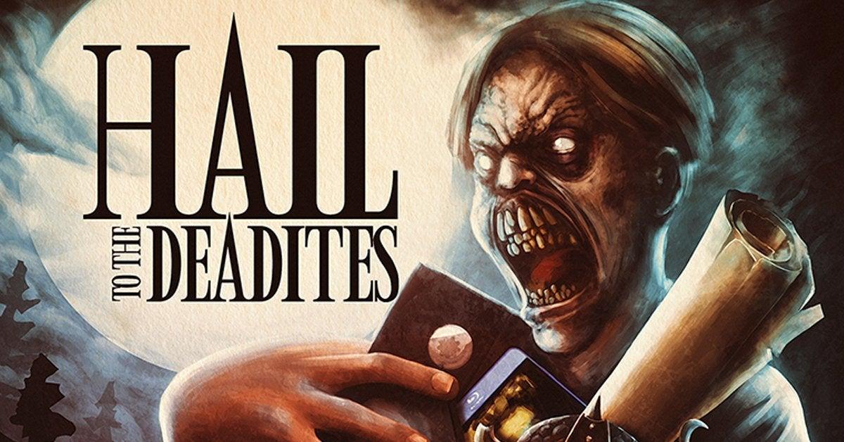 hail to the deadites movie poster header