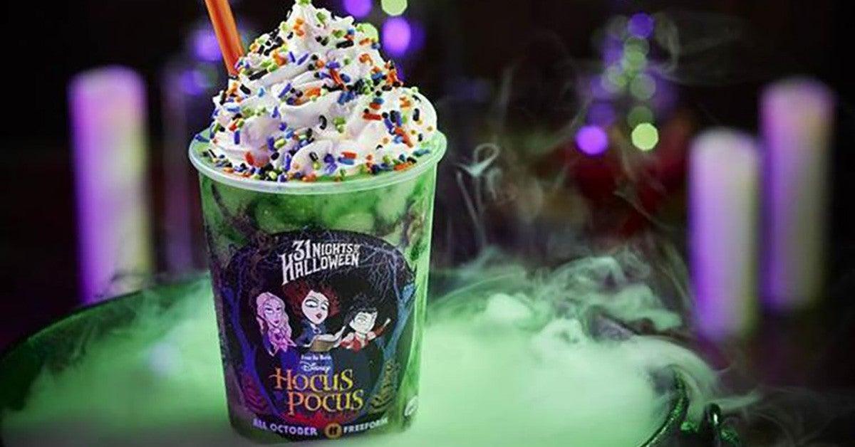 hocus pocus milkshake carvel