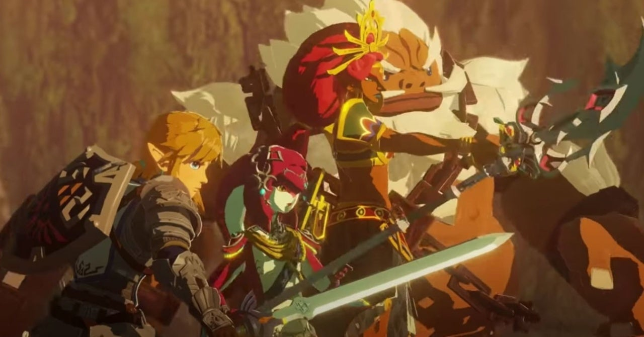 Hyrule Warriors Age Of Calamity Reveals New Story Trailer Gameplay And Character
