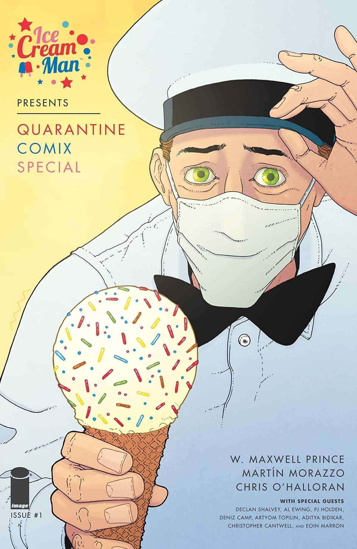 Ice Cream Man Presents Quarantine Comix Special #1