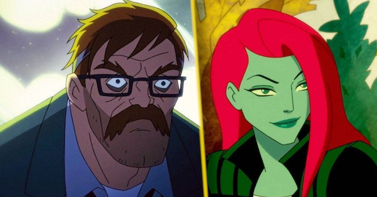 ivy and gordon in harley quinn season 3