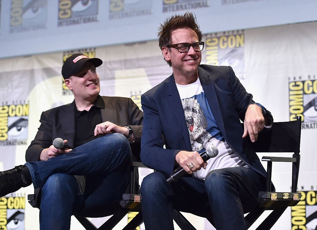 james gunn kevin feige comic con