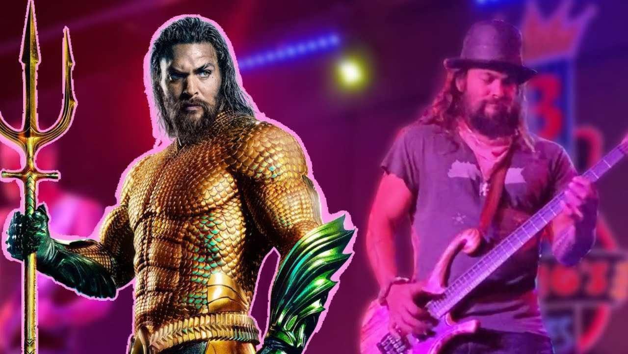 Aquaman Star Jason Momoa Surprises Nashville Fans With Guitar Skills