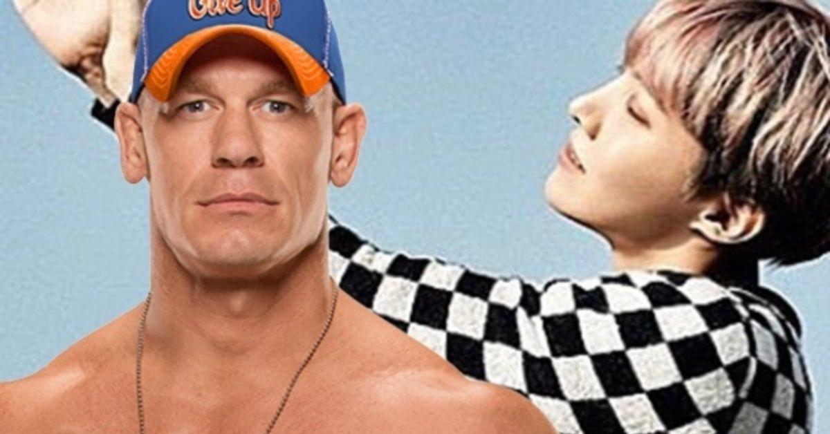 John Cena J-Hope BTS