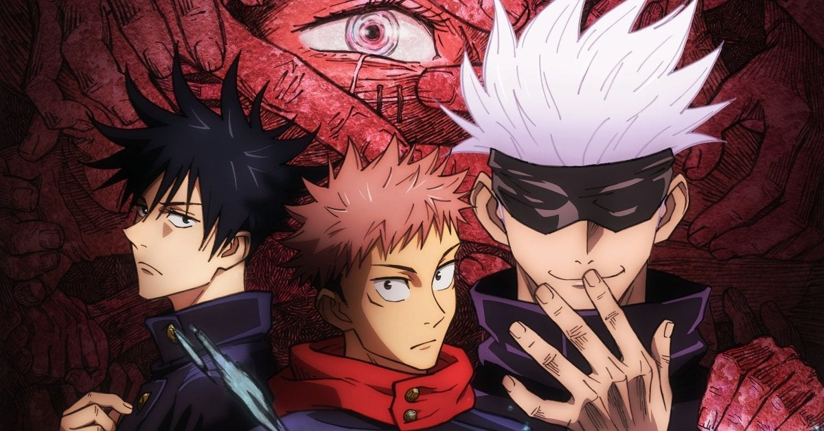 Jujutsu Kaisen Anime Poster Key Visual