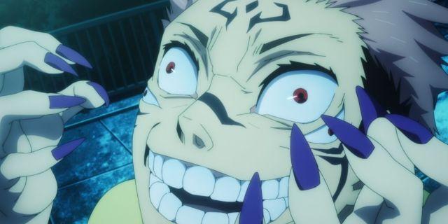 Jujutsu Kaisen Episode One Anime Sukuna Yuji