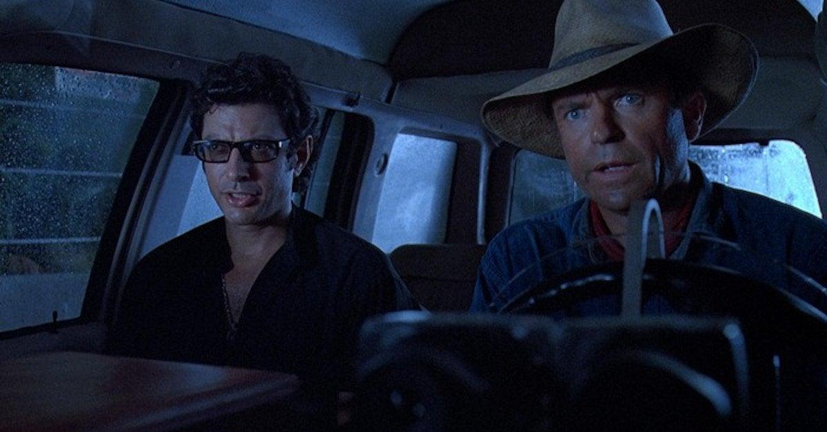 Jurassic Park Sam Neill Jeff Goldblum