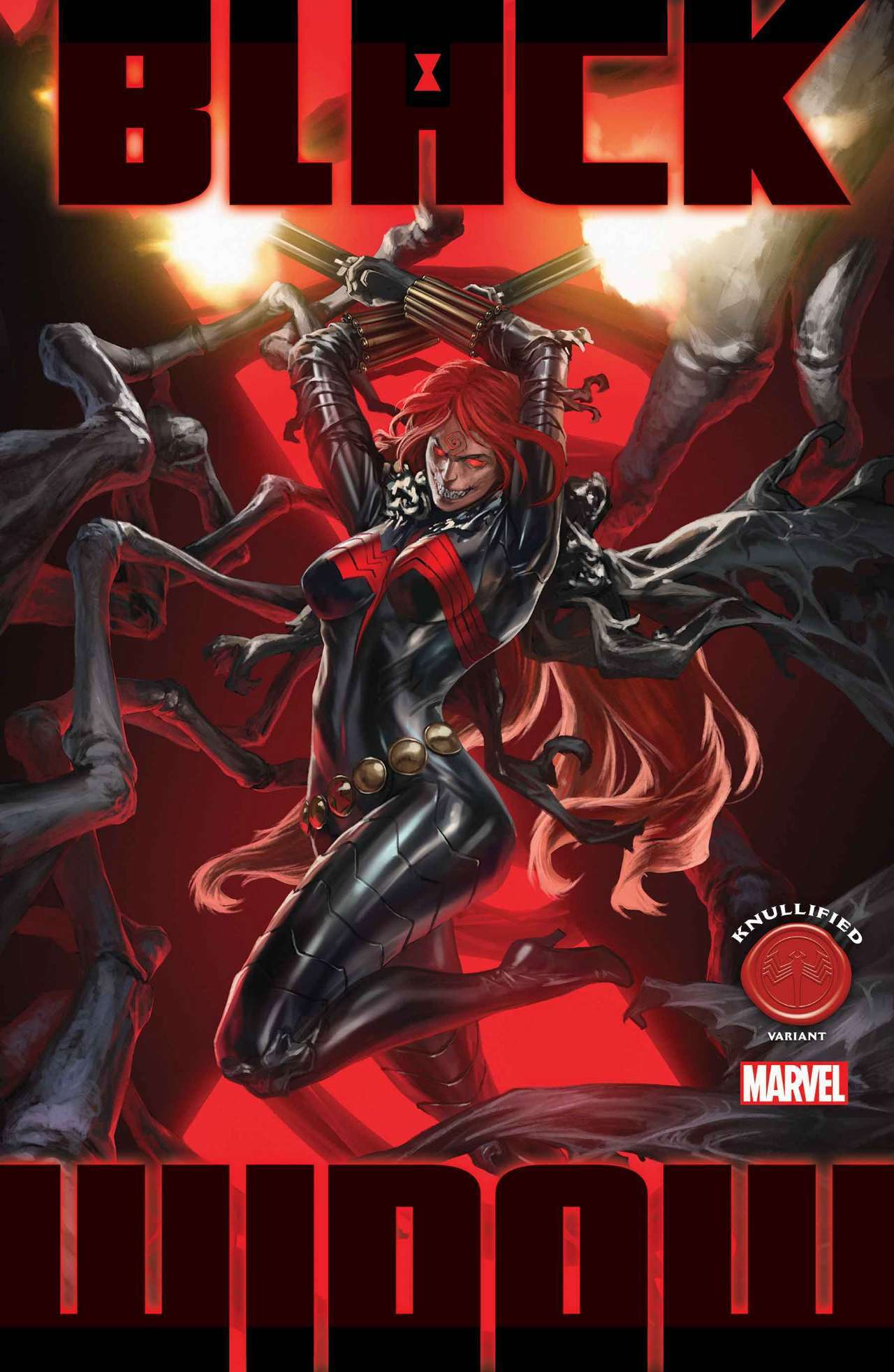 king in black black widow knull cover