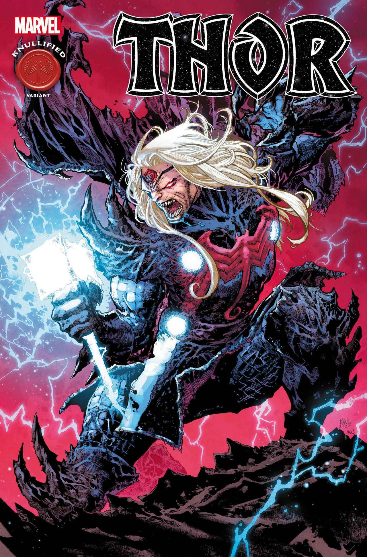 king in black thor knull cover