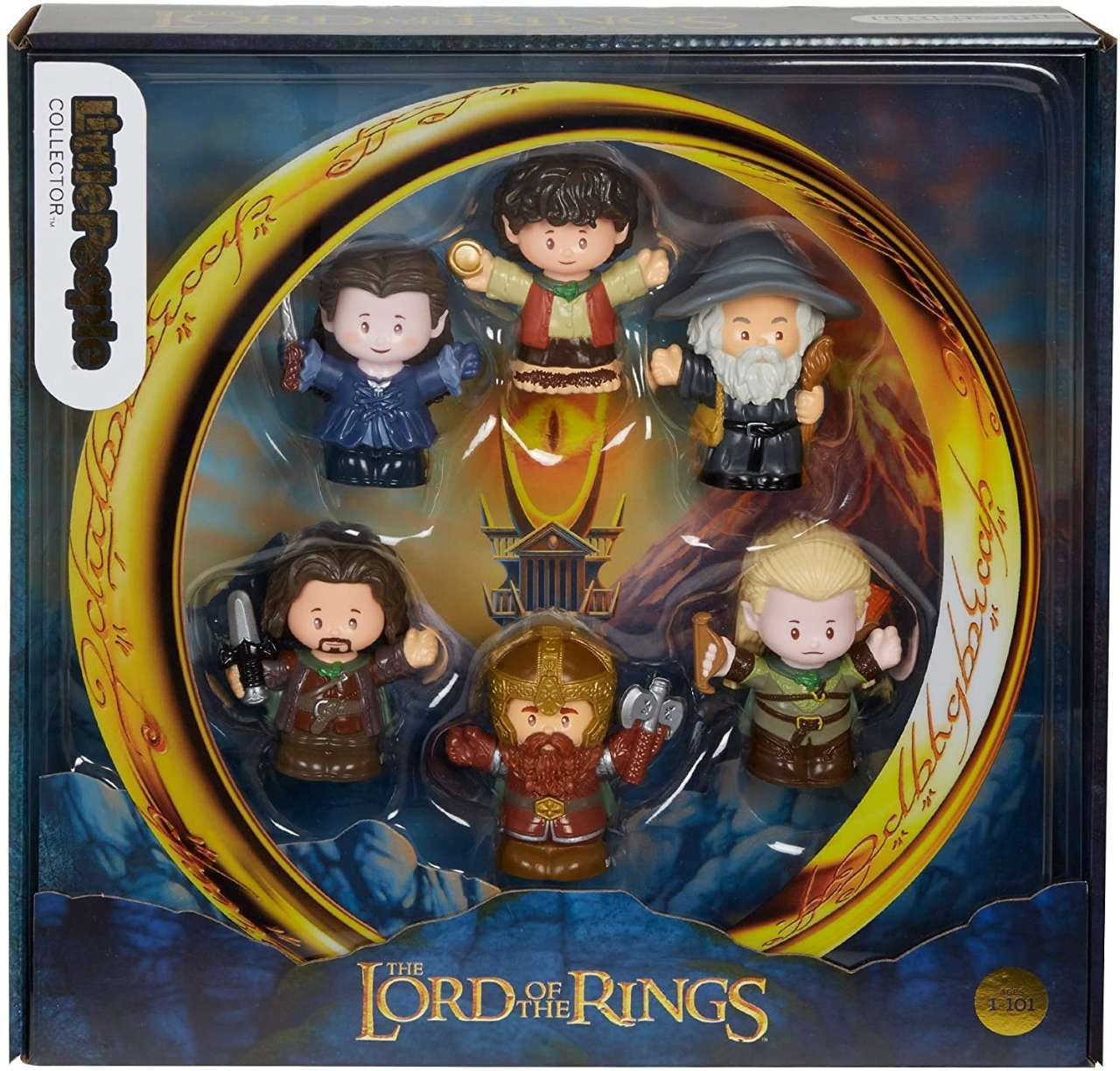 Lord of the Rings Little People Figure Set Launches for Hobbit Day