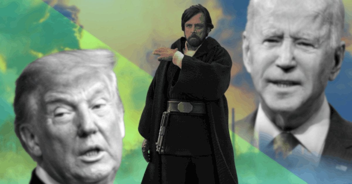 Mark Hamill Presidential Debate Reactions Star Wars Holiday Special