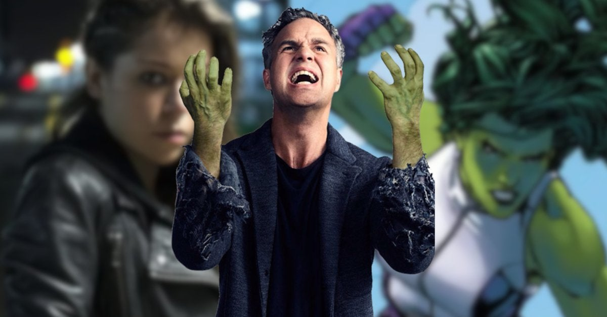 Mark Ruffalo Tatiana Maslany She Hulk Reaction