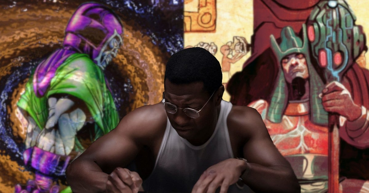 Marvel Kang The Conqueror Jonathan Majors Explained MCU Origin Powers