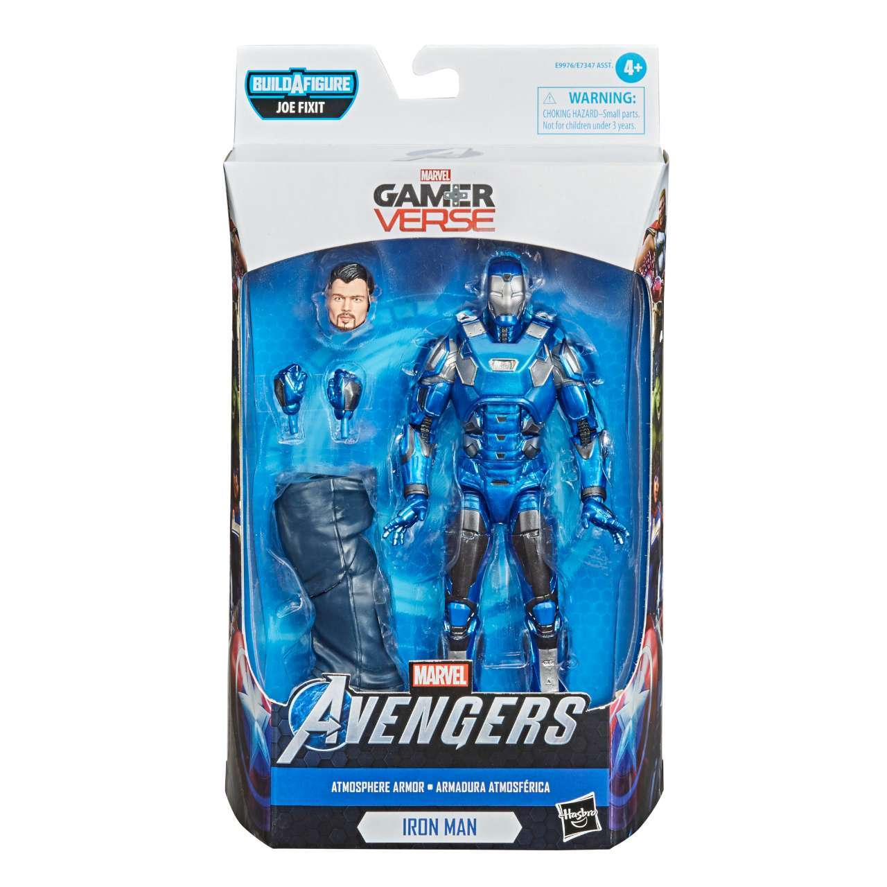 MARVEL LEGENDS SERIES 6-INCH GAMERVERSE ATMOSPHERE IRON MAN Figure - in pck