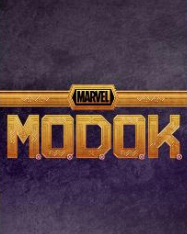 Marvel MODOK TV Series Logo