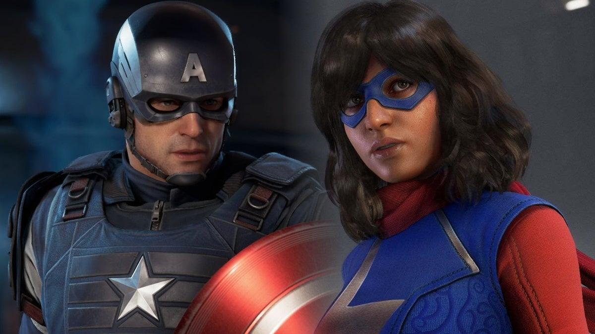 Marvel's Avengers Captain America Kamala Khan