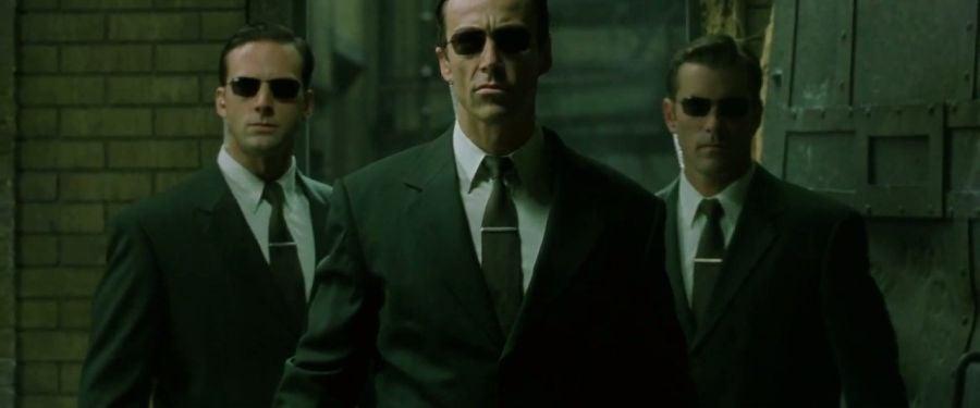 matrix reloaded agent johnson
