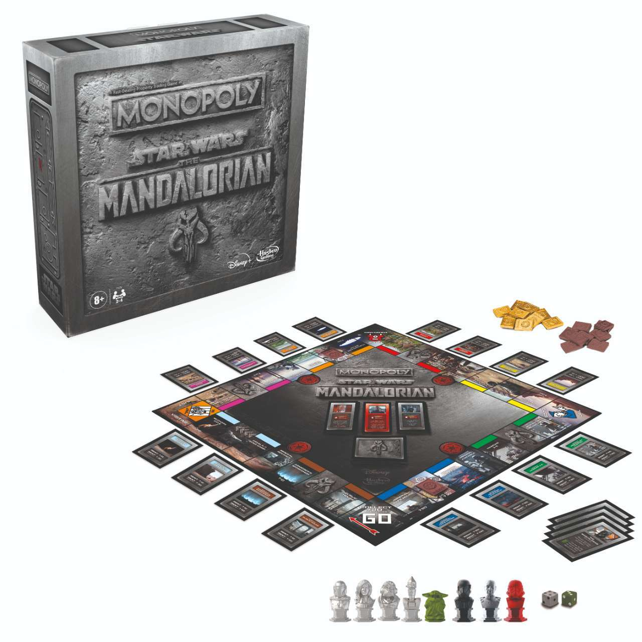 Star Wars: The Mandalorian Monopoly Has Launched