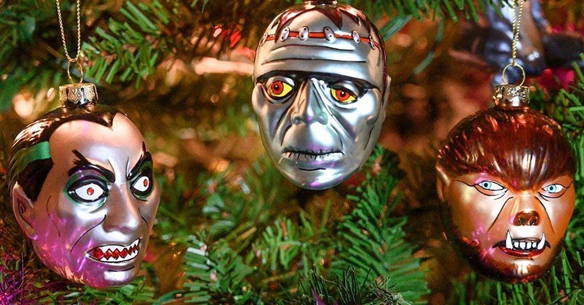 Monster Christmas Ornaments Keep Halloween Rolling