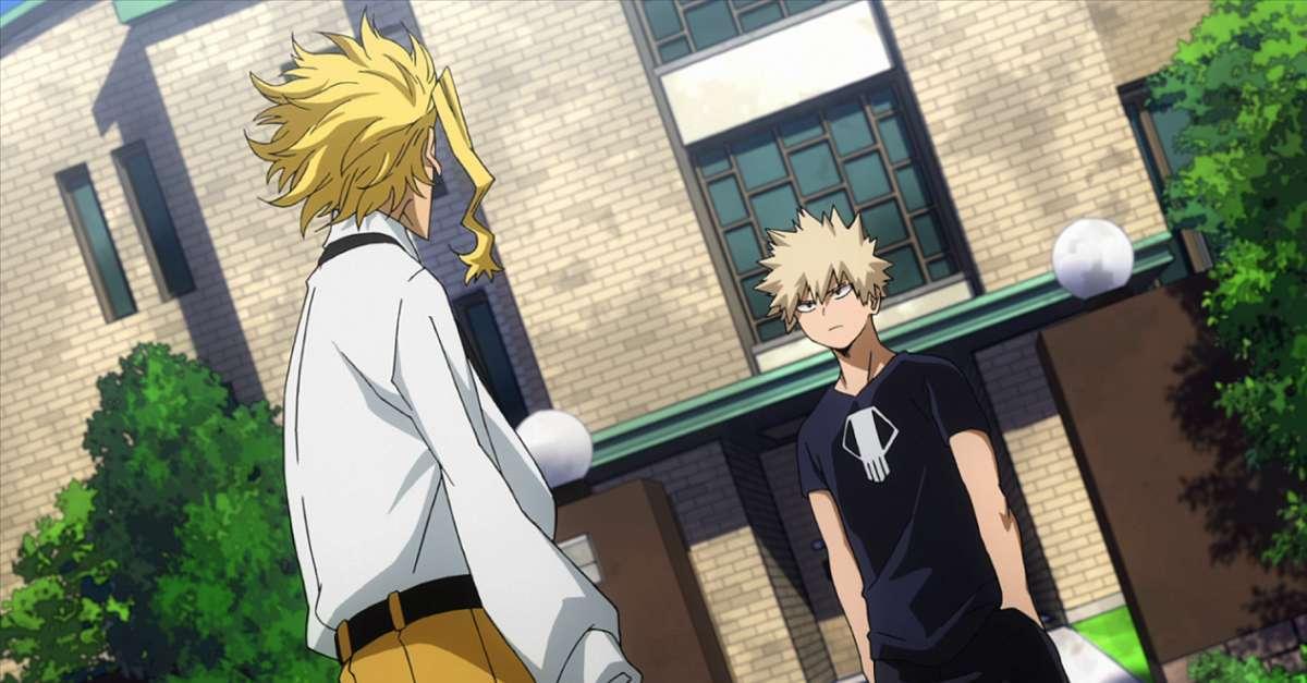 My Hero Academia All Might Bakugo