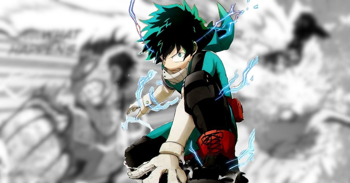My Hero Academia Manga 284 Spoilers Shigaraki vs Izuku Deku Full Power