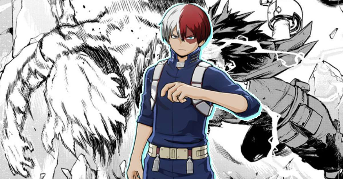 My Hero Academia Todoroki Arrival