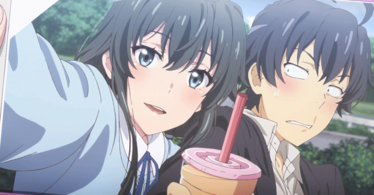 My Teen Romantic Comedy SNAFU Oregairu Ending Reactions Yukino Hachiman Couple