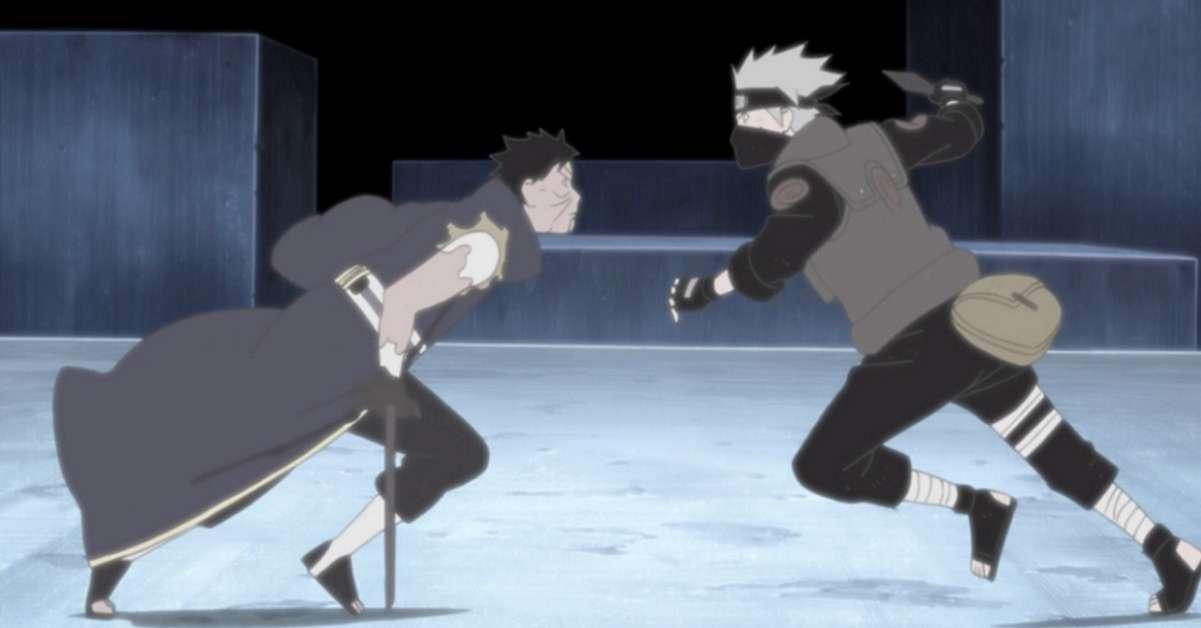 Naruto Kakashi Obito Anime