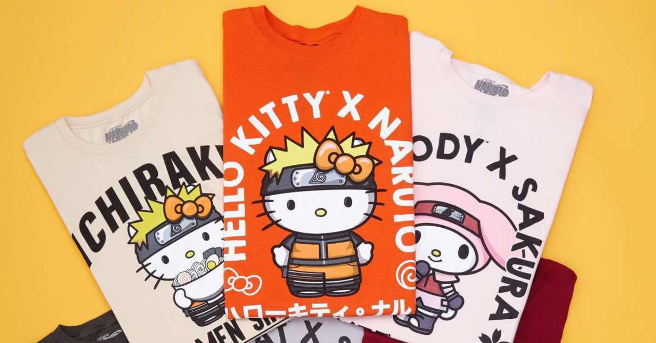 Naruto and Sanrio Team Up for a New Collab